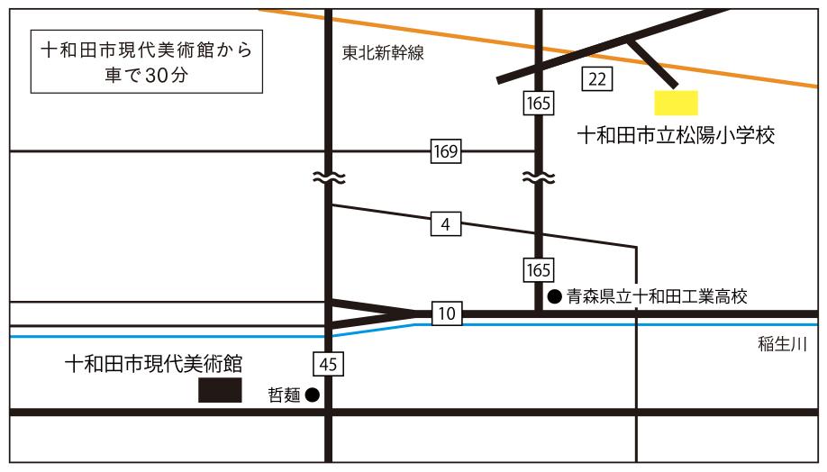 松陽小学校MAP